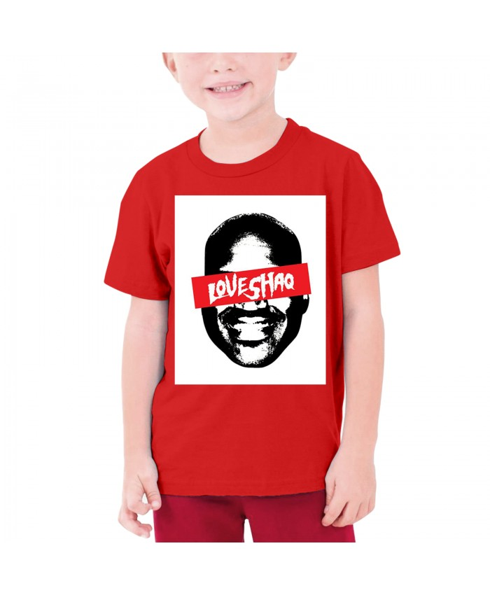 Aquille Carr Teenage T-shirt Shaquille O'Neal-themed Red