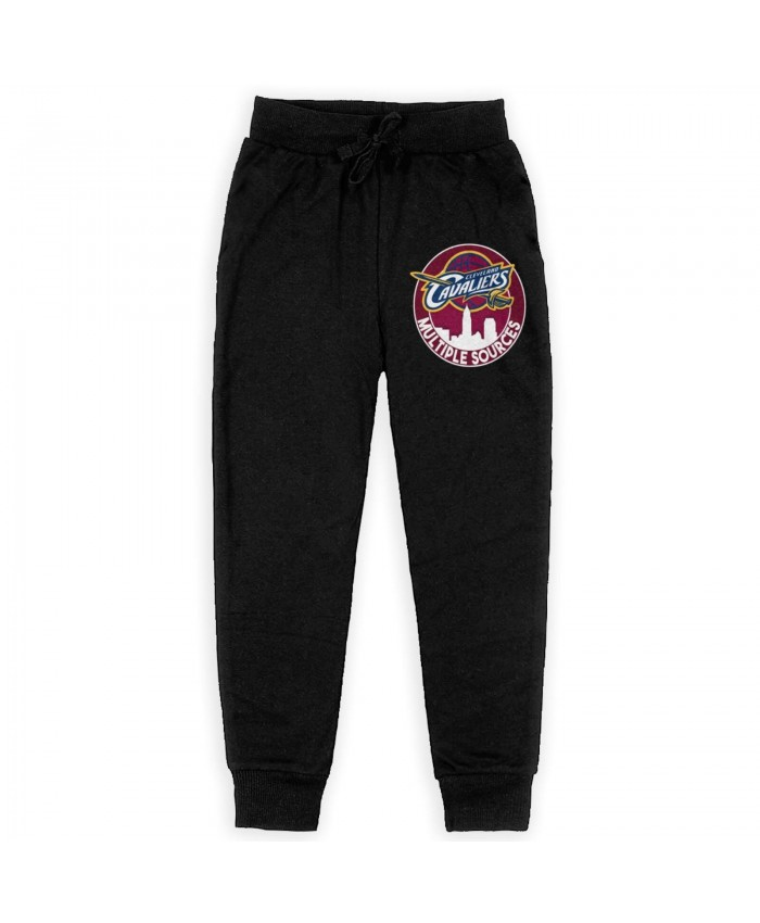 Basketball Monster Sweatpants for boys Cleveland Cavaliers CLE Black