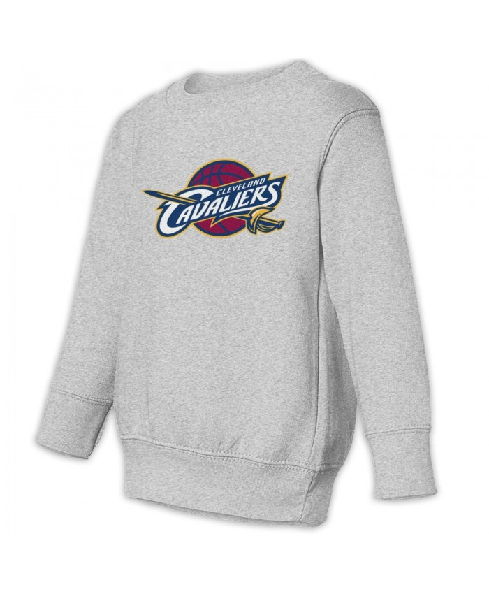 Cleveland Cavaliers Star Toddler Juvenile Sweatshirt Cleveland Cavaliers CLE Gray
