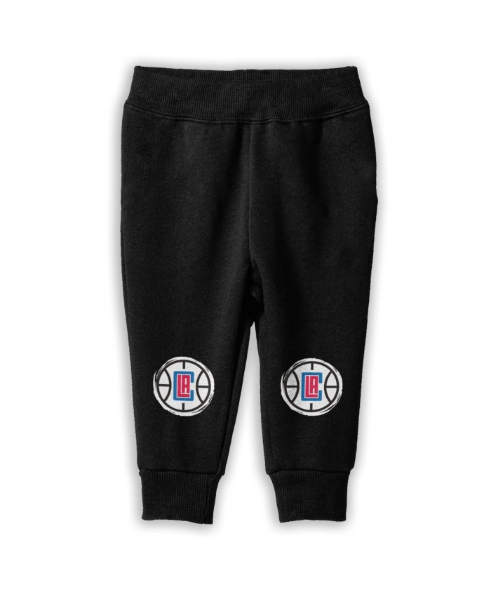 Clippers Chauncey Billups Sweatpants for boys Los Angeles Clippers LAC Black