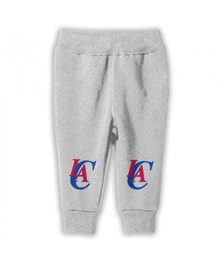 Cu Buffs Basketball Sweatpants for boys Los Angeles Clippers LAC Gray