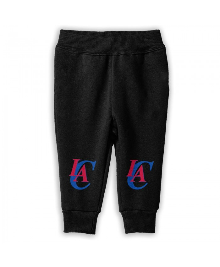 Incarnate Word Basketball Sweatpants for boys Los Angeles Clippers LAC Black