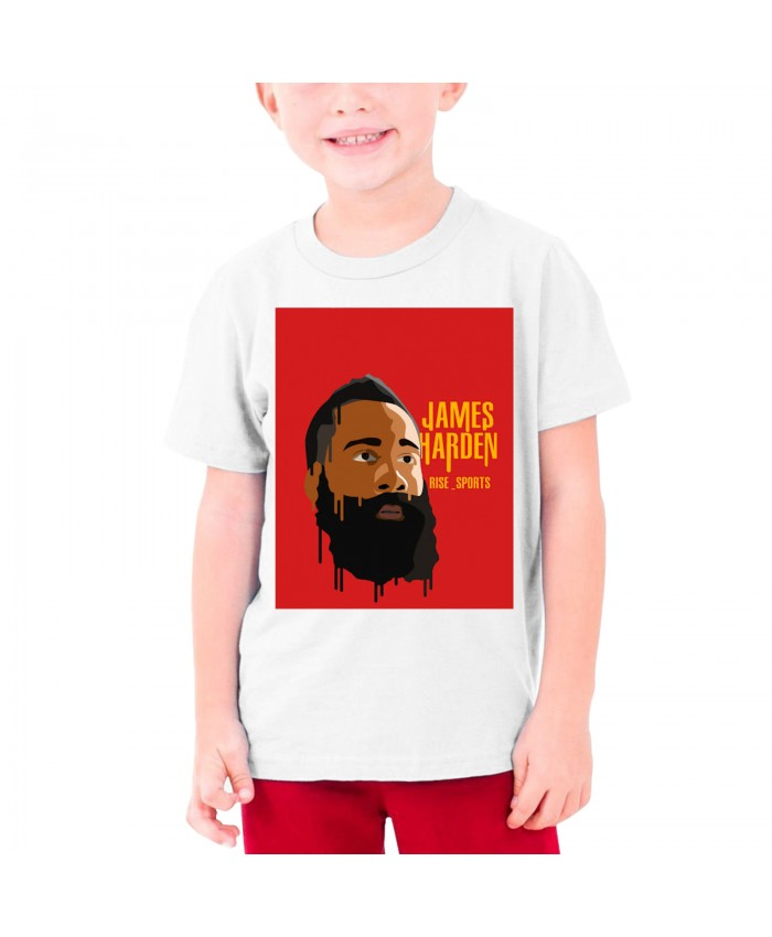 James Harden Russell Westbrook Kevin Durant Teenage T-shirt James Harden White