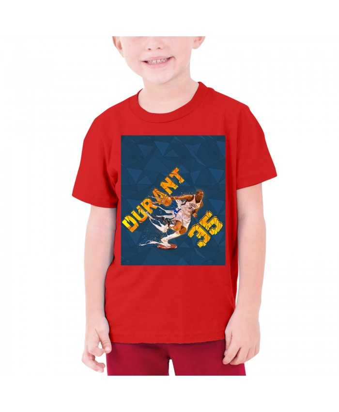 K Durant Teenage T-shirt Kevin Durant Red