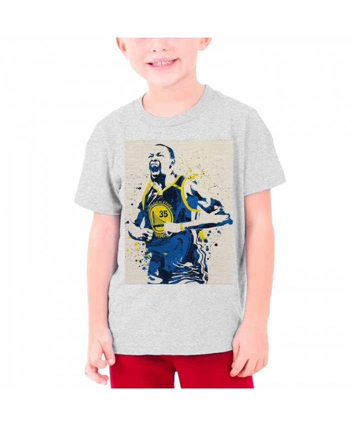 Kevin Durant And Demarcus Cousins Teenage T-shirt Kevin Durant Gray