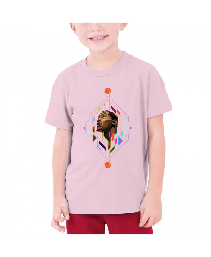 Kevin Durant Overwatch Teenage T-shirt Kevin Durant Pink