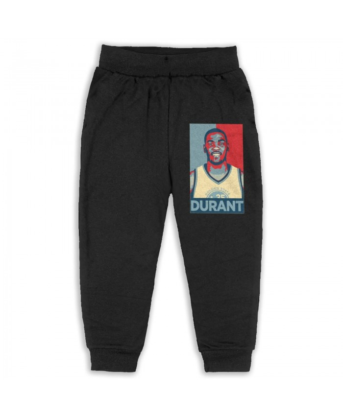 Kevin Durant Recruiting Sweatpants for boys Kevin Durant Black