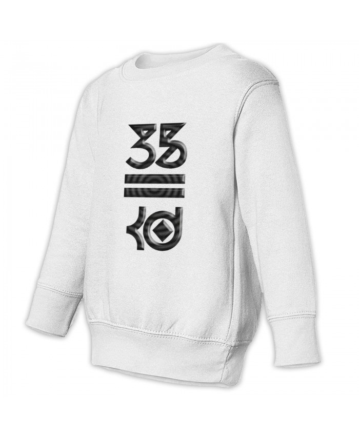 Kevin Durant Sixers Toddler Juvenile Sweatshirt Kevin Durant White