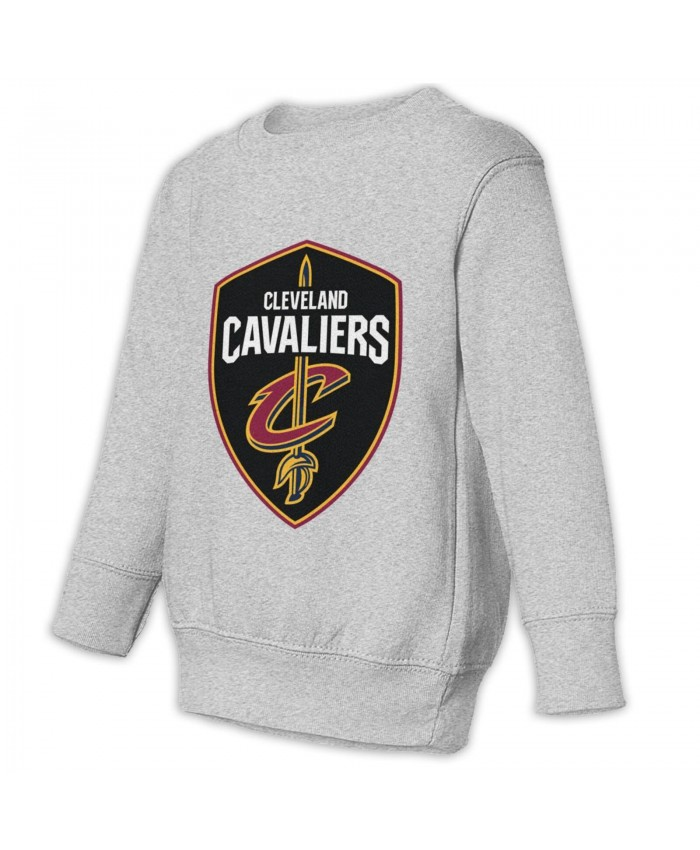 La Clippers Cleveland Cavaliers Toddler Juvenile Sweatshirt Cleveland Cavaliers CLE Gray