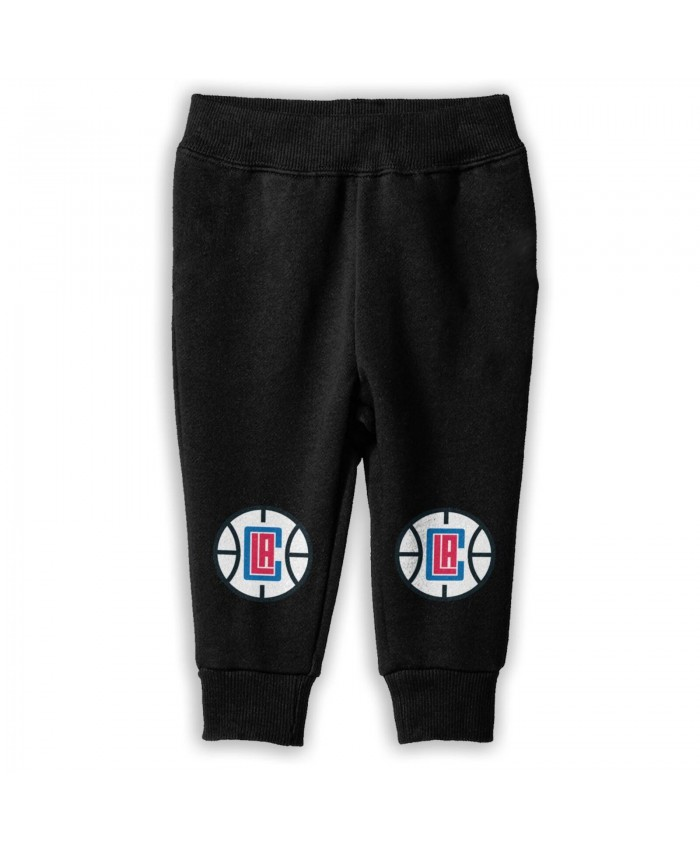La Clippers Official Website Sweatpants for boys Los Angeles Clippers LAC Black
