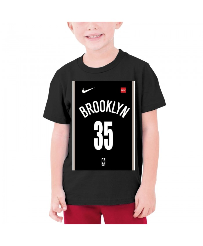 Lakers Playoffs Teenage T-shirt Kevin Durant Black