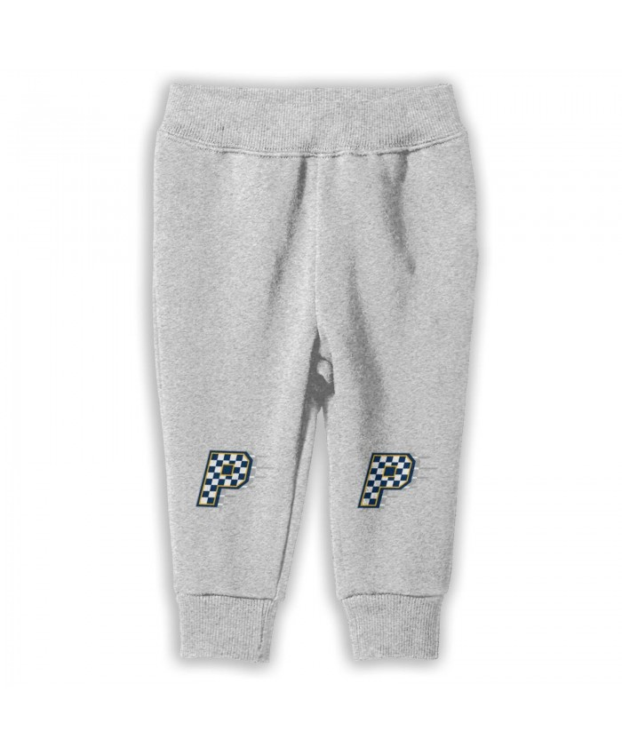 Miami Heat And Indiana Pacers Sweatpants for boys Indiana Pacers Alternate Logo Gray