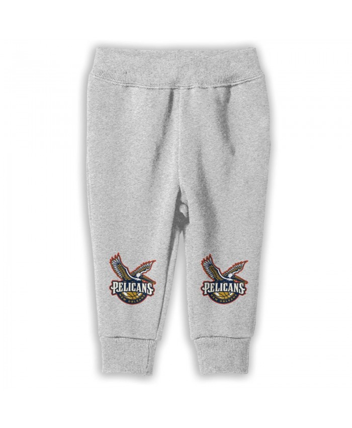 New Orleans Pelicans Brooklyn Nets Sweatpants for boys New Orleans Pelicans Gray