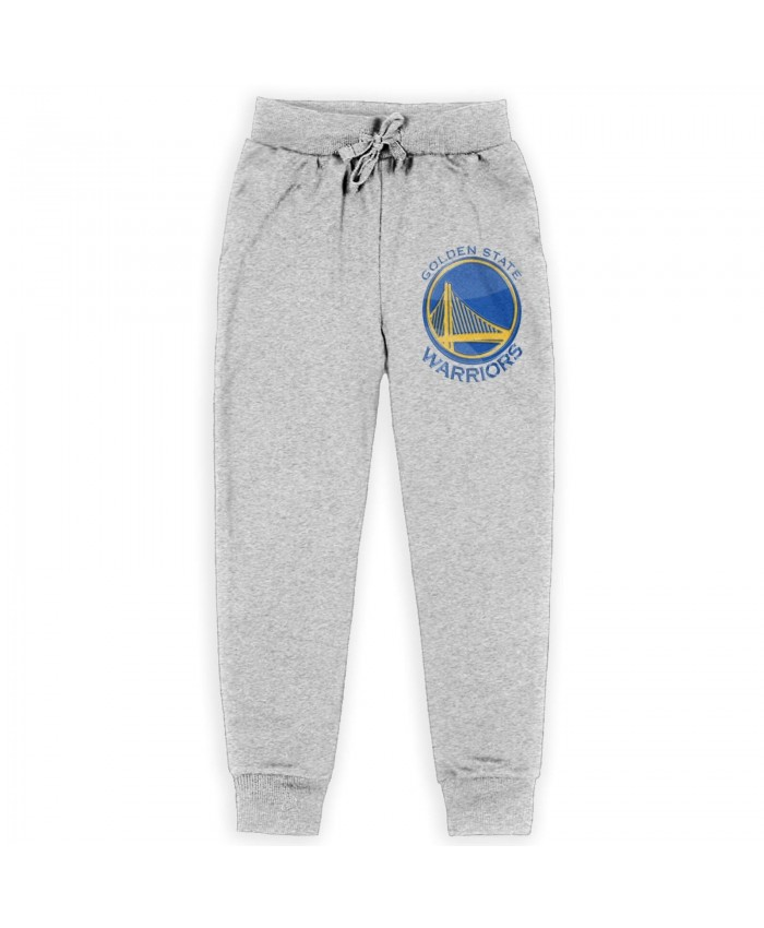 Nhl Standings Sweatpants for boys Golden State Warriors GSW Gray