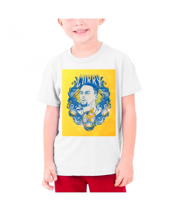Steph Curry And Kevin Durant Teenage T-shirt Stephen Curry White