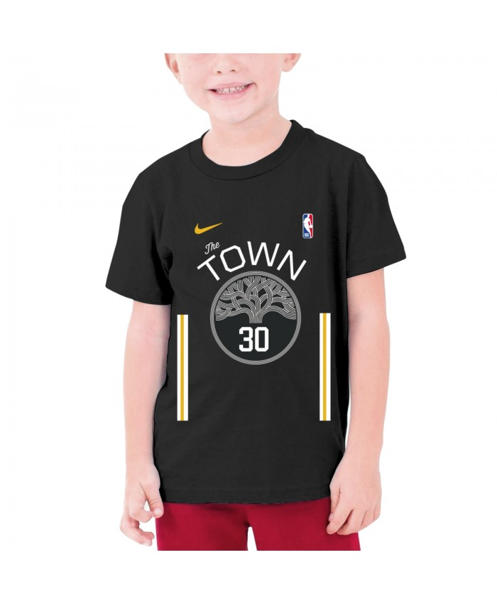 Steph Curry To The Lakers Teenage T-shirt Warriors Curry - Nba Stephen Curry Black