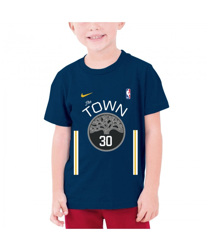 Stephen Curry 2011 Teenage T-shirt Warriors Curry - Nba Stephen Curry Navy