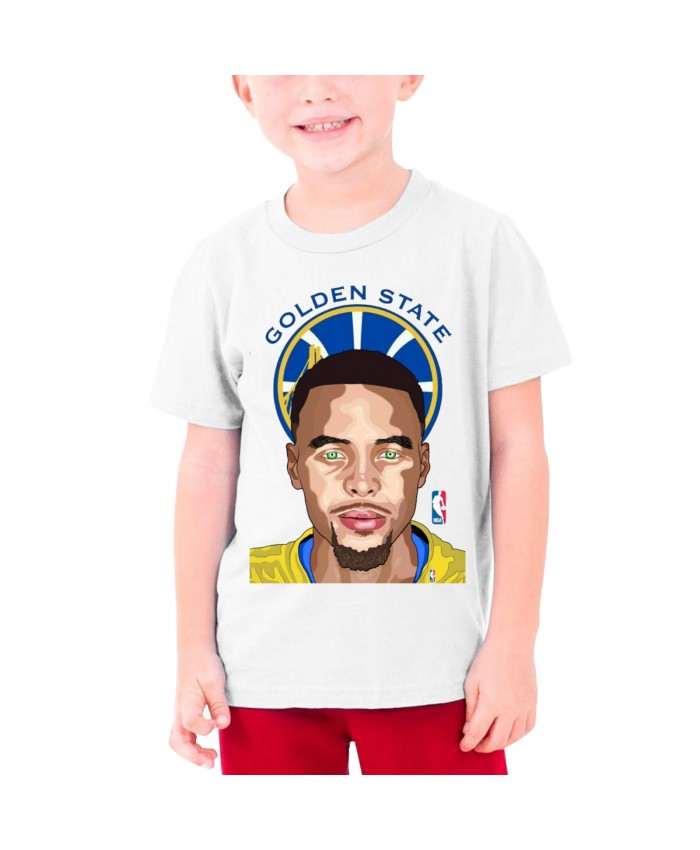 Stephen Curry Charlotte Hornets Teenage T-shirt Stephen Curry White