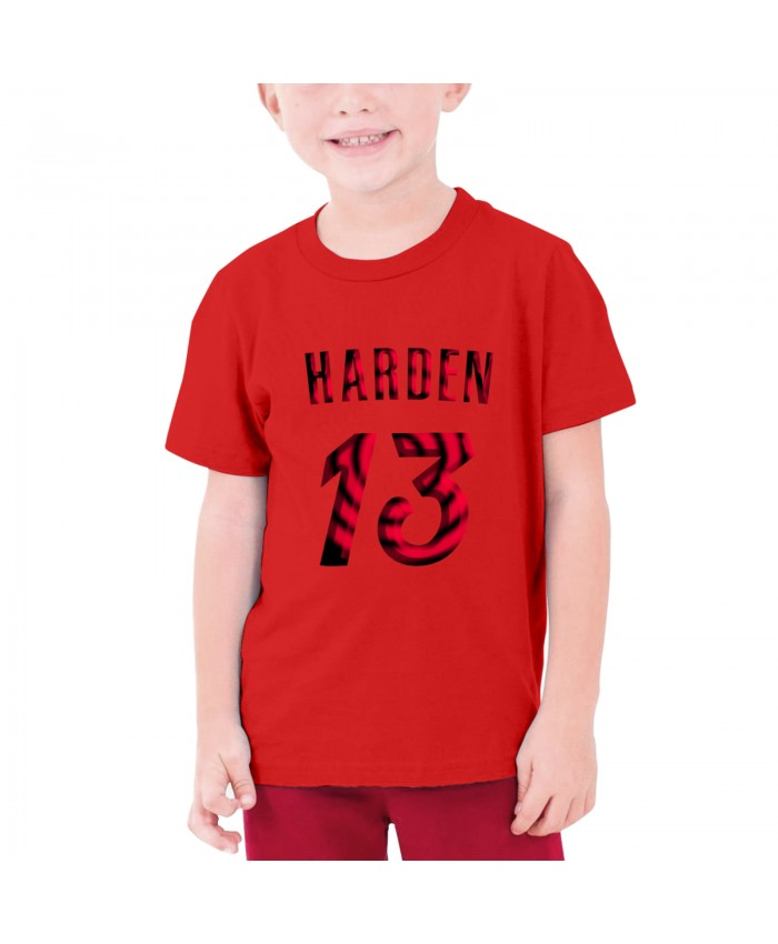 Wofford Basketball Teenage T-shirt James Harden Red